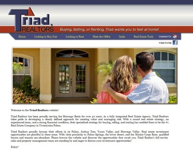 Triad Realtors Website